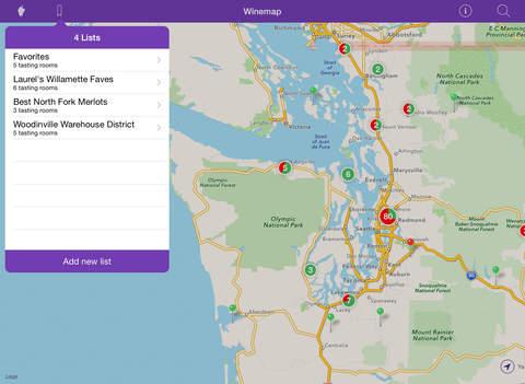 Winemap iPad Screenshot 4
