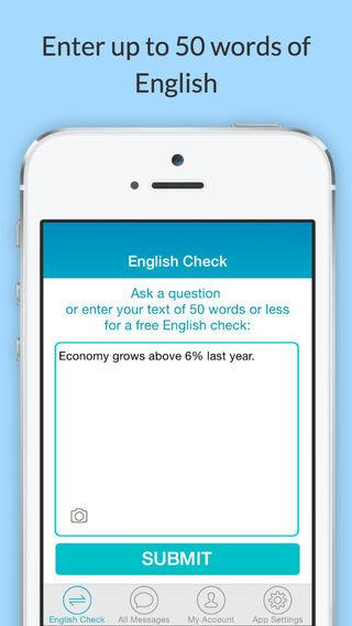 English Check