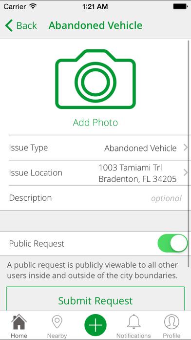 Bradenton PublicStuff iPhone Screenshot 3