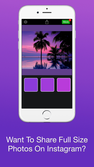 Instacrop Pro - Post Full Size Photos To Instagram Without Cropping