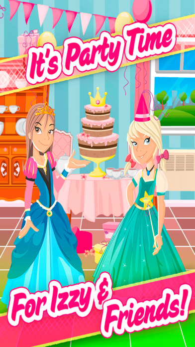 My Izzy And Friends Storybook Episode Game - The Royal Birthday Party Story Free