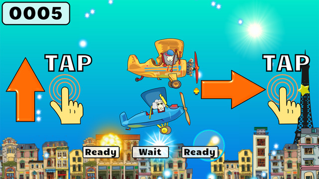 Retry Plane Shooter - The RC Arcade Bomber Airplane Game For Kids