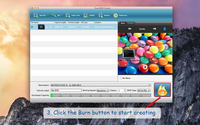 Free DVD Creator Screenshot - 3