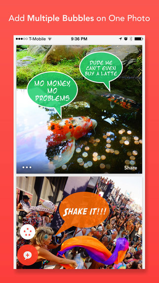 玩攝影App|Bubblee - Add Speech Bubbles, Funny Captions & Photo Notes to Photos & Selfies免費|APP試玩