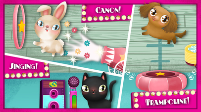 Screenshots of Miss Hollywood Showtime - Pet House Makeover for iPhone