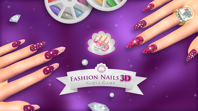 Fashion Nails 3D Girls Game: Create Awesome Manicure Designs in Your Beauty Salon
