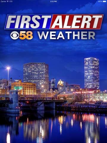 CBS58 Weather for iPad