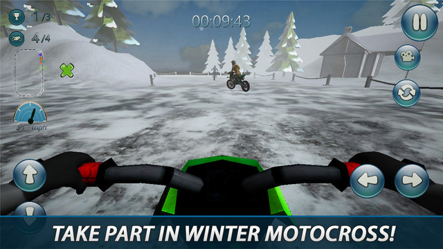 Winter Motocross 3D - Ice Chase Deluxe