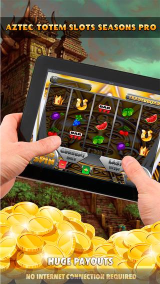 Aztec Totem Slots Seasons Pro - FREE Slot Game Premium World