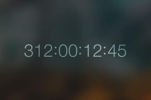 Countdown for iOS screenshot 1
