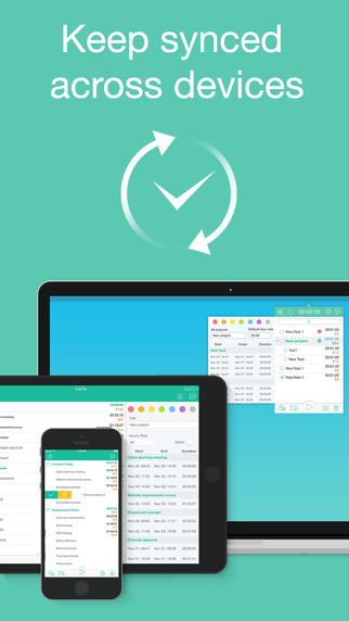 Chrono Plus – Time Tracker & Timesheet with Billing, Invoicing, and Reporting Screenshots