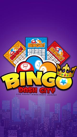 Bingo Dash City Pro- Live Pocket Bingo Party Jackpot