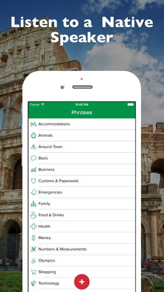 SmallTalk - Italian Phrasebook