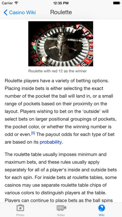 CasinoGames iPhone Screenshot 5