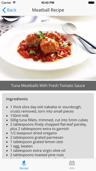 【免費生活App】Meatball Recipe Easy-APP點子