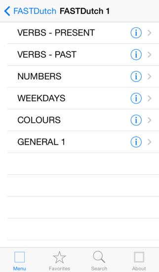 FASTDutch iPhone Screenshot 2