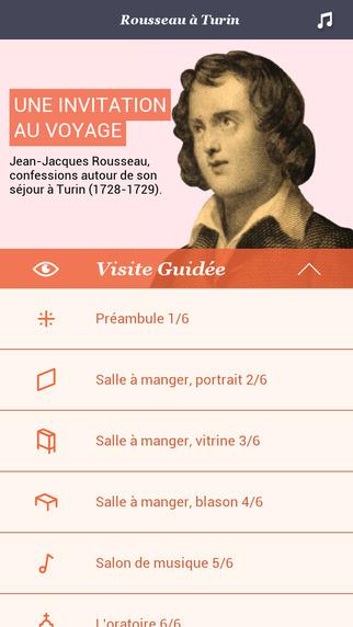Rousseau à Turin