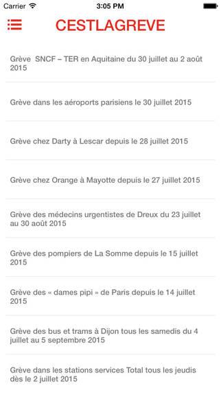 Cestlagreve - grèves en France