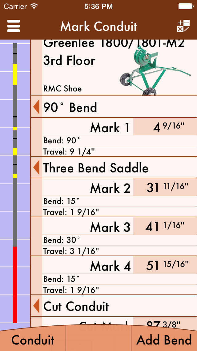 Rigidpro conduit bending calculator rigidpro is an advanced bending calculator that was specifically made for helping with mechanical electrical and hydraulic benders greentooth Image collections