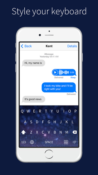 Magic Keyboards - custom keyboard customizes color and theme for iOS 8