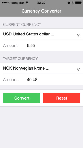 CConverter - Currency Converter