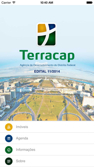 Terracap - aplicativo oficial para acompanhamento online de licitações.