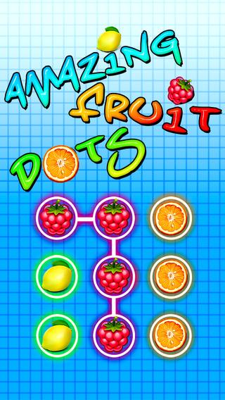 Amazing Fruit Dots : A fun addictive fruits matching game