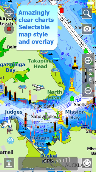 Aqua Map New Zealand HD - Offline Nautical Charts
