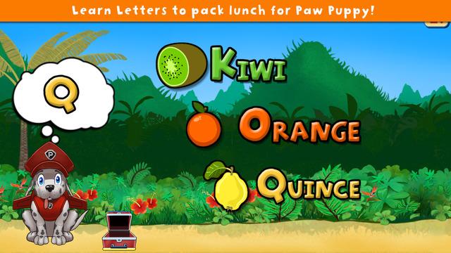 Paw Puppy on Lunchbox Patrol