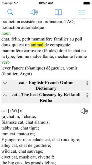French English Dictionary Pro Translator Dictionnaire Anglais Français