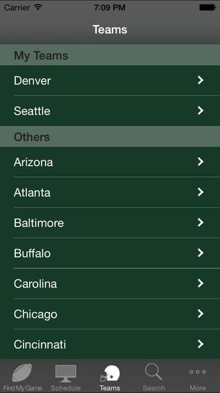 RostaMan Pro Football iPhone Screenshot 1