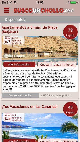 BuscoUnChollo - Chollos de Viajes y Hoteles