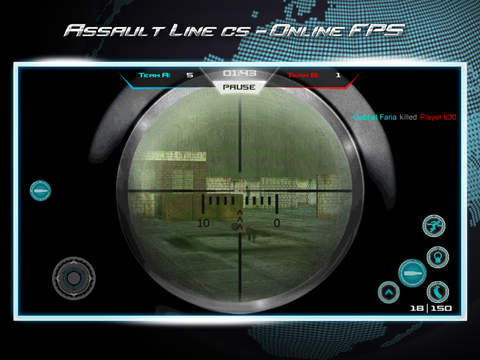 Screenshots of Assault Line CS - Online FPS for iPad