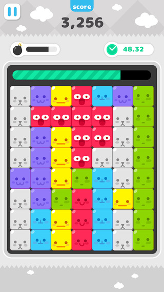 Face candy pop - simple 3 block match game in 1 minute