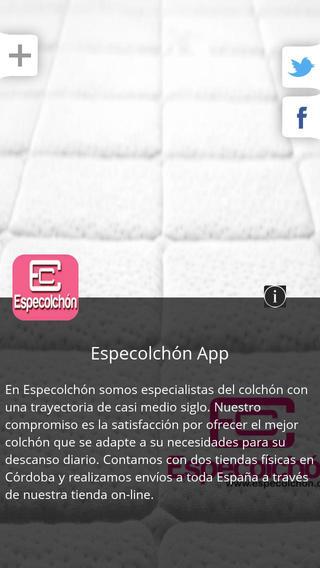 Especolchón App