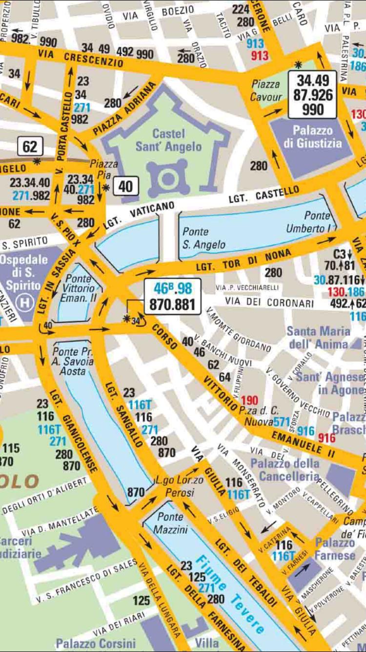 罗马旅游指南 - 地图.景点.地铁.攻略