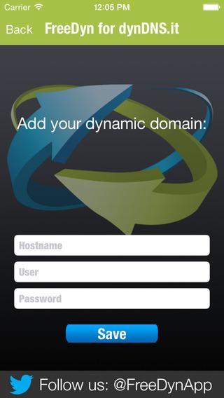 FreeDyn for dynDNS.it
