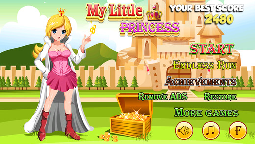 My Little Princess Free - Fun Free Jumping Journey for Young Girls