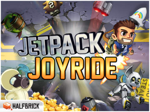 Screenshot #1 for Jetpack Joyride