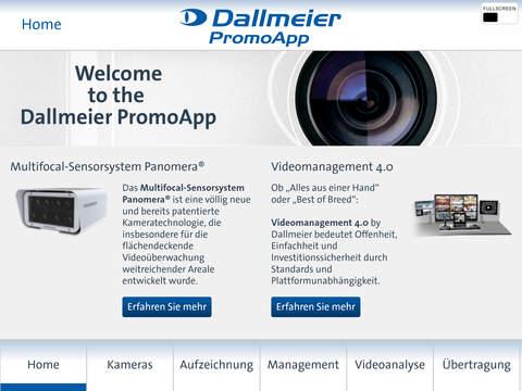 Dallmeier PromoApp Deutsch