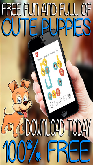 Match the Cute Puppies - Awesome Fun Puzzle Pair Up for Little Kids
