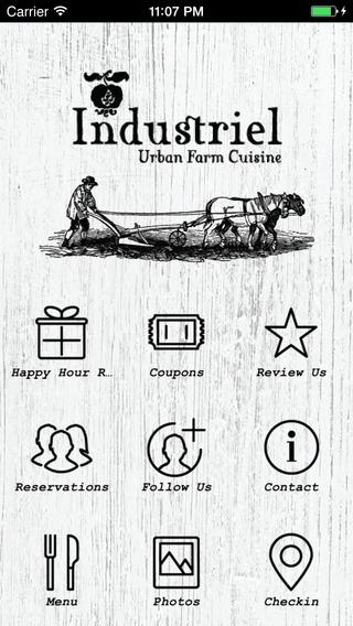 Industriel Urban Farm Cuisine