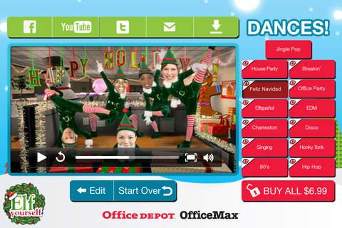 ElfYourself® By Office Depot screenshot 3