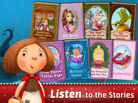 Fairy Tales ~ 3D Interactive Pop-up Books ! screenshot