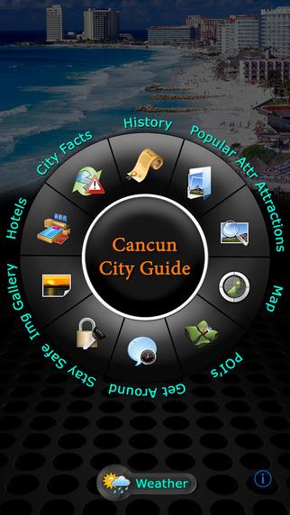 Cancun Offline Map Travel Guide