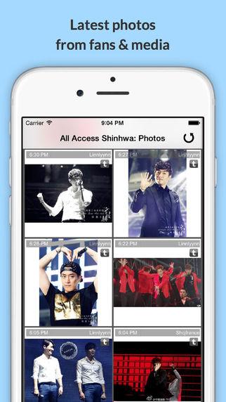 All Access: Shinhwa Edition - Music Videos Social Photos News More