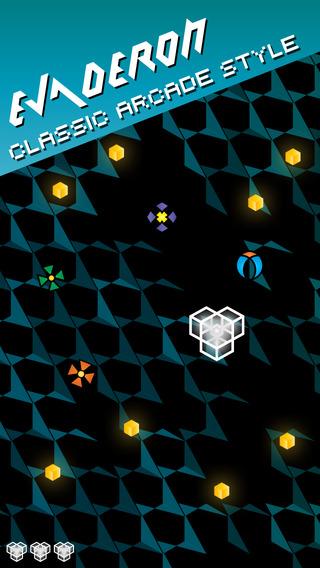 Evaderon — Retro-Arcade Avoidance Game