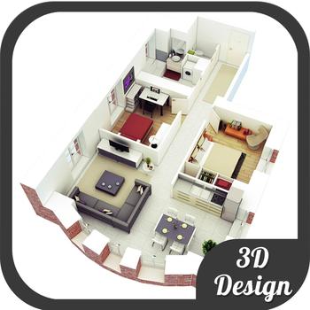 Bedroom 3D Floor Plans Design Ideas For IPad APP APP