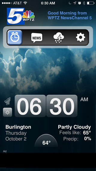 Alarm Clock WPTZ NewsChannel 5