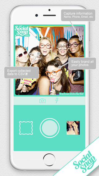 Social Snap - Watermark and Brand Photos